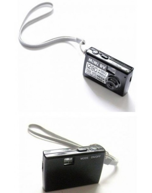 أصغر كاميرا للتسجيل فيديو والصوت اسود