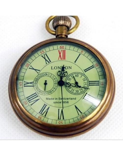 London 1856's Antique Hand Mechanical Pocket Watch