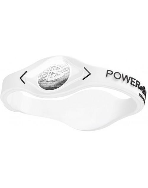Power Balance Band, White/Black Small