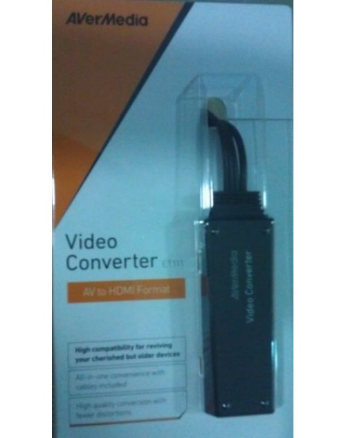 AverMedia Video Converter - Composite ‫(AVI) to HDMI ET113
