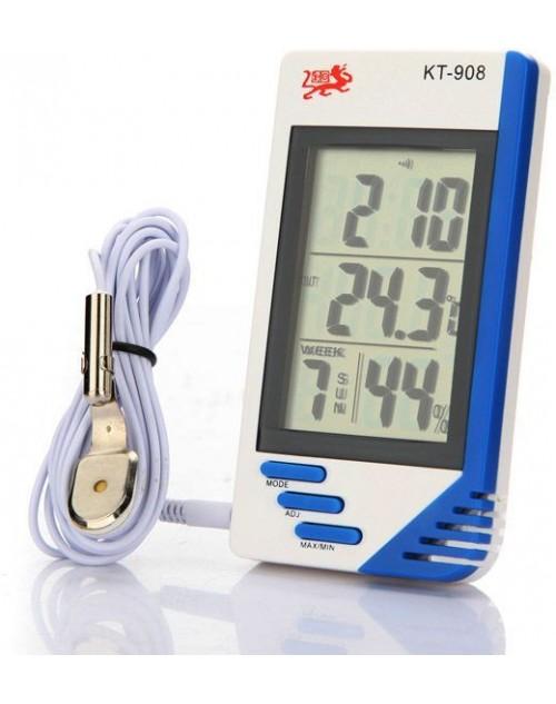 مقياس حراره ورطوبه داخلي و خارجي