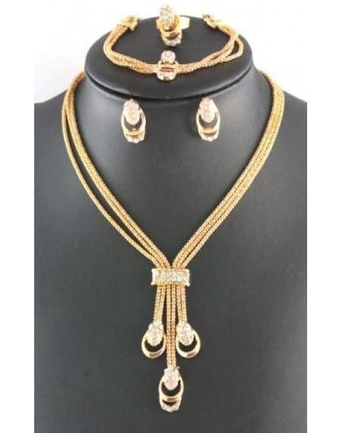العصرية موضة الذهب مطلي الزفاف مجموعات مجوهرات الأفريقية