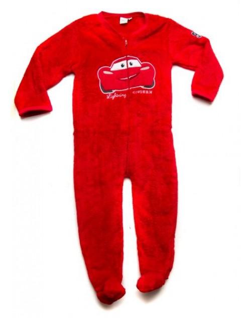 ديزني سبيد كار - بيجامة أطفال - أحمر - 6 شهور