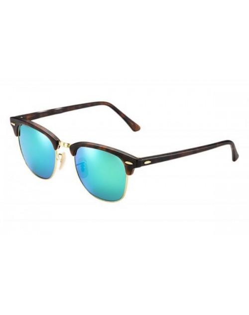 نظارة شمسية بعدسات خضراء مرايا للجنسين مقاس 51