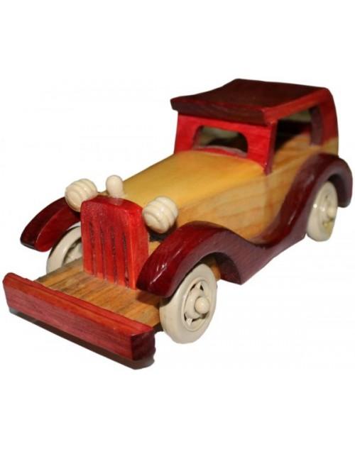 سيارة مصنوع من الخشب يدوي للديكور