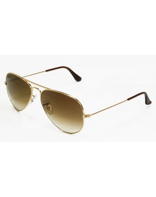 نظارة شمسية بعدسات بنى مدرج للرجال