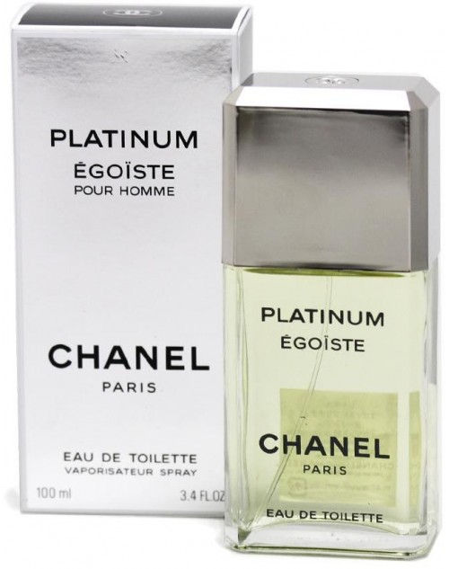 Chanel Egoiste Platinum for Men -100ml, Eau De Toillette-